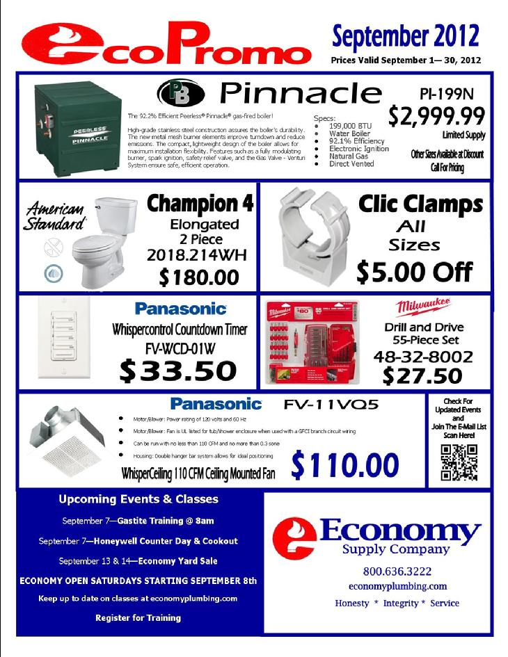 Francois Illas New Tradition: EcoPromo - September 2012 - Final Week!